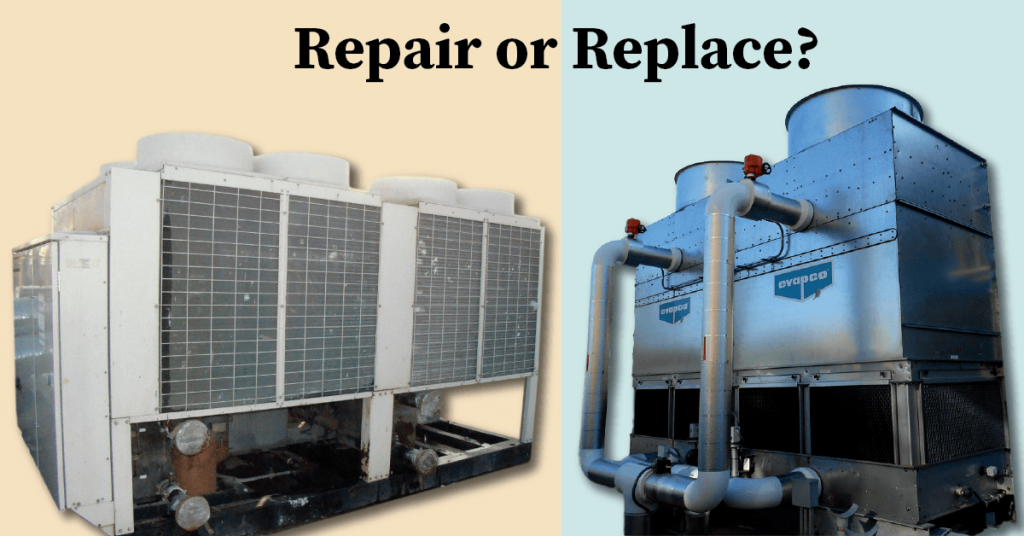 Repair or Replace Commercial Chiller