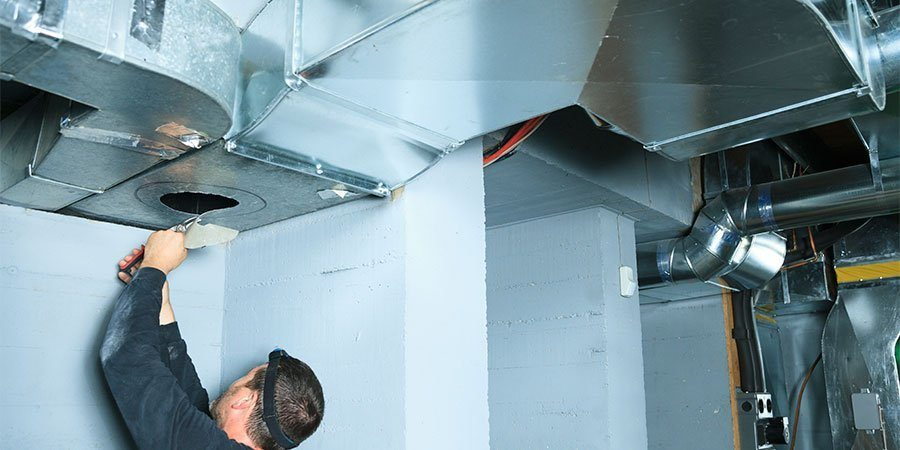 Duct install