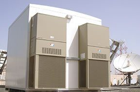 equipment shelter wall mount air conditioning